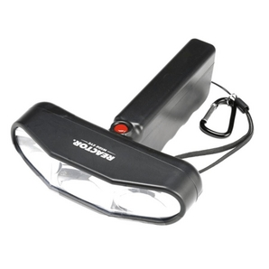 Large Wide Eye LED Flashlight, with 6 AA Batteries