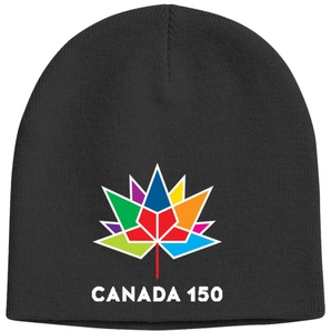 Youth Canada 150th Anniversary Acrylic Knit Toque, Assorted Colours