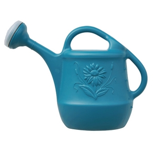 7.6L Plastic Watering Can, Assorted Colours