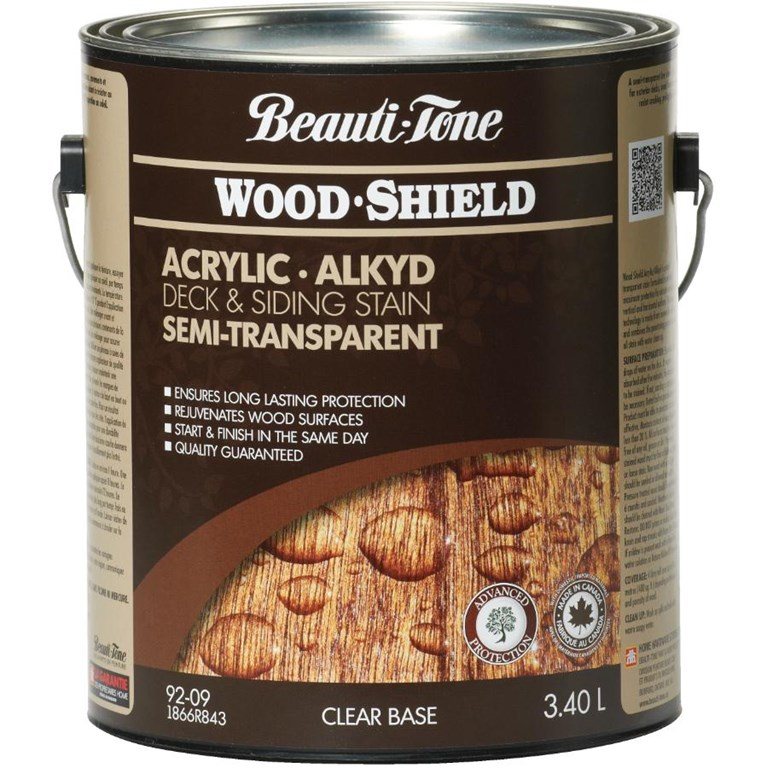 3.40L Semi Transparent Clear Base Alkyd Acrylic Stain