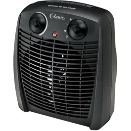 750W - 1500W Fan Heater with Thermostat